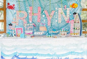 Bubble Guppies Under The Sea Party with Such Cute Ideas via Kara's Party Ideas | KarasPartyIdeas.com #Ocean #Beach #Party #Ideas #Supplies (8)