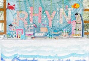 Bubble Guppies Under The Sea Party with Such Cute Ideas via Kara's Party Ideas   KarasPartyIdeas.com #Ocean #Beach #Party #Ideas #Supplies (8)