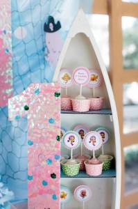 Bubble Guppies Under The Sea Party with Such Cute Ideas via Kara's Party Ideas | KarasPartyIdeas.com #Ocean #Beach #Party #Ideas #Supplies (6)