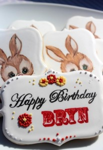 Bunny Themed Birthday Party with Lots of Cute Ideas via Kara's Party Ideas | KarasPartyIdeas.com #BunnyRabbit #Easter #Party #Ideas #Supplies (13)
