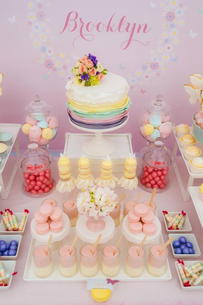 Kara S Party Ideas Butterfly Themed 1st Birthday Party With So Many Really Cute Ideas Via Kara S