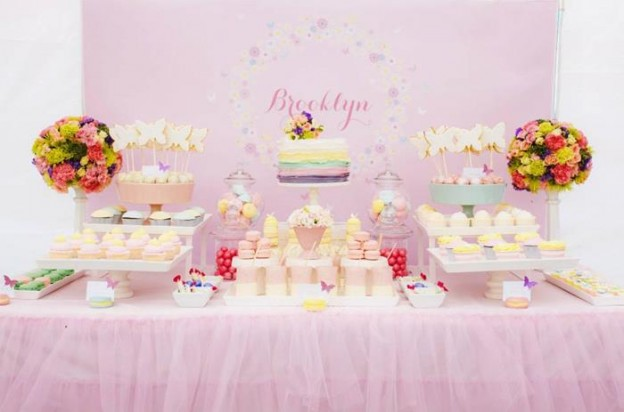 Butterfly Themed 1st Birthday Party with SUCH CUTE IDEAS via Kara's Party Ideas | KarasPartyIdeas.com #Butterflies #Party #Ideas #Supplies (17)