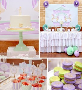 Carousel 1st Birthday Party with Cute Ideas via Kara's Party Ideas | Kara'sPartyIdeas.com #Carousels #Pinwheels #Streamers #PartyIdeas #Supplies (1)