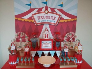 Circus Themed Christening Full of Cute Ideas via Kara's Party Ideas | KarasPartyIdeas.com #Circus #Party #Ideas #Supplies (14)