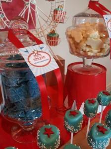 Circus Themed Christening Full of Cute Ideas via Kara's Party Ideas | KarasPartyIdeas.com #Circus #Party #Ideas #Supplies (2)