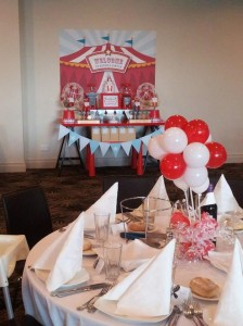 Circus Themed Christening Full of Cute Ideas via Kara's Party Ideas | KarasPartyIdeas.com #Circus #Party #Ideas #Supplies (11)