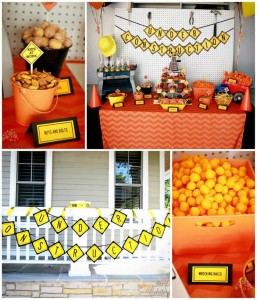 Under Construction Neighborhood Party with Lots of Awesome Ideas via Kara's Party Ideas | KarasPartyIdeas.com #Construction #NeighborhoodSocial #Party #Ideas #Supplies (1)