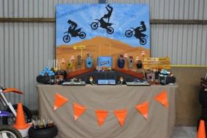 Dirt Bike Themed Birthday Party with Lots of Awesome Ideas via Kara's Party Ideas | Kara'sPartyIdeas.com #Motorcross #DirtBike #Party #Ideas #Supplies (18)