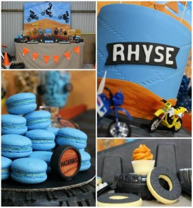 Dirt Bike Themed Birthday Party with Lots of Awesome Ideas via Kara's Party Ideas | Kara'sPartyIdeas.com #Motorcross #DirtBike #Party #Ideas #Supplies (1)