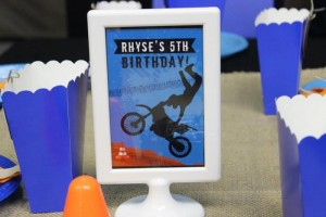 Dirt Bike Themed Birthday Party with Lots of Awesome Ideas via Kara's Party Ideas | Kara'sPartyIdeas.com #Motorcross #DirtBike #Party #Ideas #Supplies (3)
