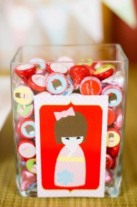 Japanese Kokeshi Doll with Lots of Cute Ideas via Kara's Party Ideas KarasPartyIdeas.com #Japan #Party #Ideas #Supplies ( (24)