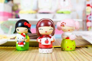 Japanese Kokeshi Doll with Lots of Cute Ideas via Kara's Party Ideas KarasPartyIdeas.com #Japan #Party #Ideas #Supplies ( (22)