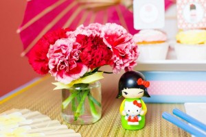 Japanese Kokeshi Doll with Lots of Cute Ideas via Kara's Party Ideas KarasPartyIdeas.com #Japan #Party #Ideas #Supplies ( (12)