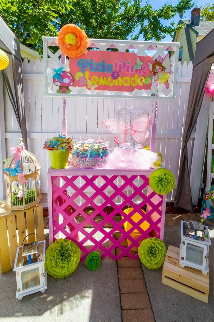Karas Party Ideas Magical Fairy Garden 1st Birthday Party with So
