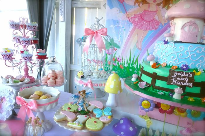 Kara 39 S Party Ideas Magical Fairy Garden 1st Birthday Party