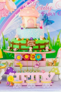 Magical Fairy Garden 1st Birthday Party with Such Cute Ideas via Kara's Party Ideas | KarasPartyIdeas.com #Fairies #Butterflies #Enchanted #Party #Ideas #Supplies (6)
