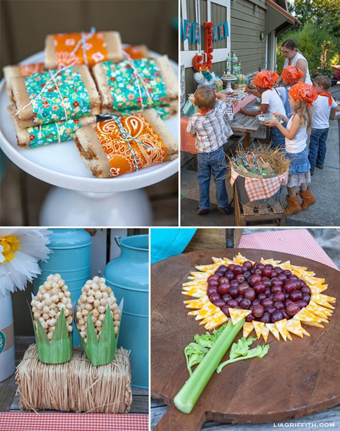 Kara's Party Ideas » Farm Themed Birthday Party Full of ...