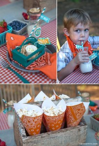 Farm Themed Birthday Party with Lots of Cute Ideas via Kara's Party Ideas | KarasPartyIdeas.com #Farm #Animal #Barnyard #Party #Ideas #Supplies (6)