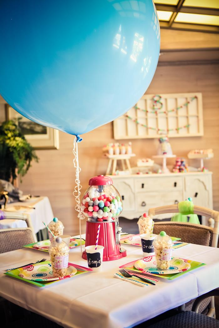 Kara S Party Ideas Gumball Themed 8th Birthday Party With
