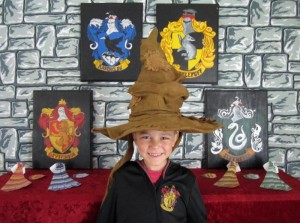 Hogwarts School of Witchcraft and Wizardry Party with SO MANY AWESOME IDEAS via Kara's Party Ideas | KarasPartyIdeas.com #HarryPotter #Party #Ideas #Supplies (4)