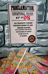 Hogwarts School of Witchcraft and Wizardry Party with SO MANY AWESOME IDEAS via Kara's Party Ideas | KarasPartyIdeas.com #HarryPotter #Party #Ideas #Supplies (2)