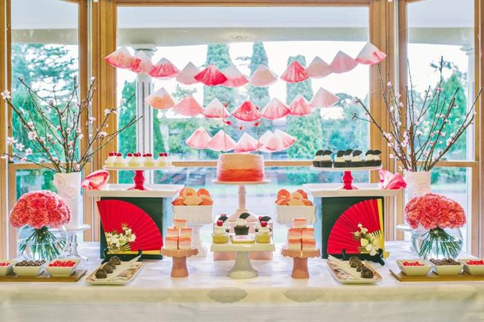 Kara S Party Ideas Japanese Themed Birthday Party With