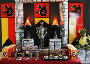 Knights and Dragons Playdate Full of Fun Ideas via Kara's Party Ideas | KarasPartyIdeas.com #KnightsQuest #Templar #Dragon #TheRoundTable #Party #Ideas #Supplies (16)