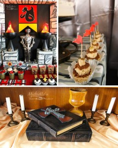 Knights and Dragons Playdate Full of Fun Ideas via Kara's Party Ideas | KarasPartyIdeas.com #KnightsQuest #Templar #Dragon #TheRoundTable #Party #Ideas #Supplies (1)