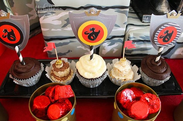Knights and Dragons Playdate Full of Fun Ideas via Kara's Party Ideas   KarasPartyIdeas.com #KnightsQuest #Templar #Dragon #TheRoundTable #Party #Ideas #Supplies (3)