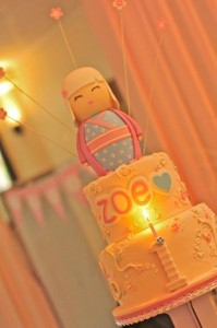 Kokeshi Doll 1st Birthday Party with SO MANY CUTE IDEAS via Kara's Party Ideas | Kara'sPartyIdeas.com #1stBirthday #Girl #PartyIdeas #Supplies (36)