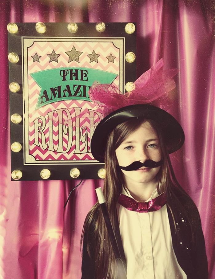 Kara's Party Ideas Girly Magic Party Planning Ideas ...