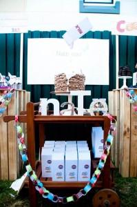 Milk & Cookies 1st Birthday Party Full of REALLY CUTE Ideas via Kara's Party Ideas | KarasPartyIdeas.com #CookiesAndMilk #1stBirthday #Party #Ideas #Supplies (13)