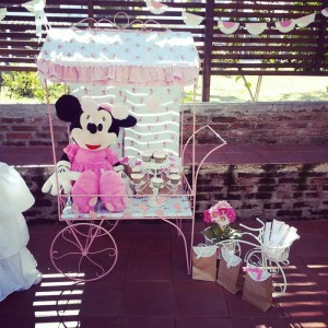 Shabby Chic Minnie Mouse Party with Lots of REALLY CUTE Ideas via Kara's Party Ideas | Kara'sPartyIdeas.com #Vintage #Girl #MinnieMouse #Party #Ideas #Supplies (28)
