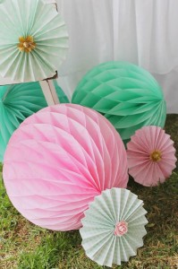 Mint, Pink, and Gold Tea Party with So Many Really Cute Ideas via Kara's Party Ideas | KarasPartyIdeas #BridalShower #Party #Ideas #Supplies (10)