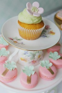 Mint, Pink, and Gold Tea Party with So Many Really Cute Ideas via Kara's Party Ideas | KarasPartyIdeas #BridalShower #Party #Ideas #Supplies (3)