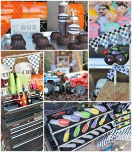 Monster Jam Monster Truck Party with So Many AWESOME Ideas via Kara's Party Ideas | Kara'sPartyIdeas.com #MonsterTruck #MonsterJam #Party #Ideas #Supplies (1)