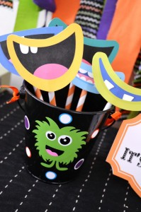 Halloween Monster Bash Full of Awesome Ideas via Kara's Party Ideas | KarasPartyIdeas.com #Halloween #Party #Ideas #Supplies (2)