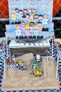 Monster Jam Monster Truck Party with So Many AWESOME Ideas via Kara's Party Ideas | Kara'sPartyIdeas.com #MonsterTruck #MonsterJam #Party #Ideas #Supplies (22)