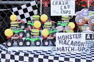 Monster Jam Monster Truck Party with So Many AWESOME Ideas via Kara's Party Ideas | Kara'sPartyIdeas.com #MonsterTruck #MonsterJam #Party #Ideas #Supplies (17)