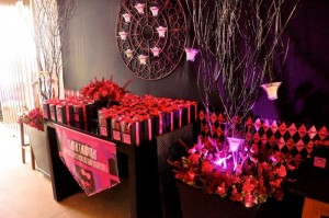 Monster High Themed Party with FULL of Really AWESOME Ideas via Kara's Party Ideas | KarasPartyIdeas.com #TweenParty #Halloween #Party #Ideas #Supplies (31)