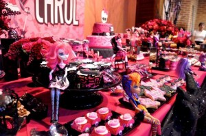 Monster High Themed Party with FULL of Really AWESOME Ideas via Kara's Party Ideas | KarasPartyIdeas.com #TweenParty #Halloween #Party #Ideas #Supplies (23)