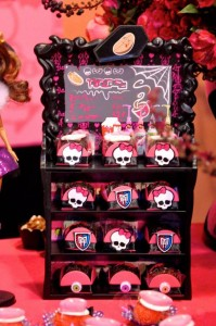 Monster High Themed Party with FULL of Really AWESOME Ideas via Kara's Party Ideas | KarasPartyIdeas.com #TweenParty #Halloween #Party #Ideas #Supplies (22)