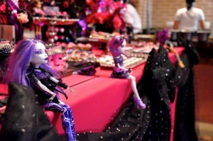 Monster High Themed Party with FULL of Really AWESOME Ideas via Kara's Party Ideas | KarasPartyIdeas.com #TweenParty #Halloween #Party #Ideas #Supplies (17)