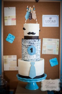 First Birthday Office Party with So Many Adorable Ideas via Kara's Party Ideas | KarasPartyIdeas.com #LittleMan #Mustache #Party #Ideas #Supplies (25)