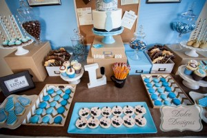First Birthday Office Party with So Many Adorable Ideas via Kara's Party Ideas | KarasPartyIdeas.com #LittleMan #Mustache #Party #Ideas #Supplies (11)