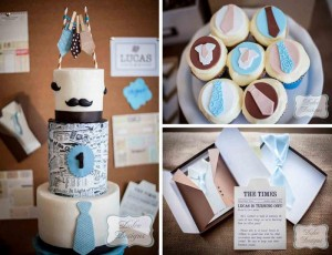 First Birthday Office Party with So Many Adorable Ideas via Kara's Party Ideas | KarasPartyIdeas.com #LittleMan #Mustache #Party #Ideas #Supplies (1)