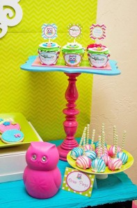 Look Whoo's One Owl Party with So Many Darling Ideas via Kara's Party Ideas KarasPartyIdeas.com #HootOwl #Party #Ideas #Supplies (13)
