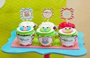 Look Whoo's One Owl Party with So Many Darling Ideas via Kara's Party Ideas KarasPartyIdeas.com #HootOwl #Party #Ideas #Supplies (8)