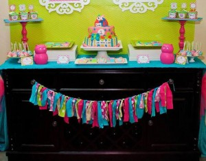Look Whoo's One Owl Party with So Many Darling Ideas via Kara's Party Ideas KarasPartyIdeas.com #HootOwl #Party #Ideas #Supplies (3)