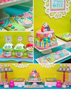 Look Whoo's One Owl Party with So Many Darling Ideas via Kara's Party Ideas KarasPartyIdeas.com #HootOwl #Party #Ideas #Supplies (1)